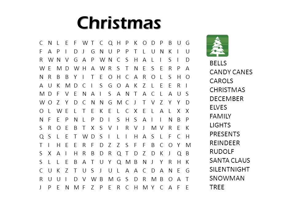 christmas puzzle games printable