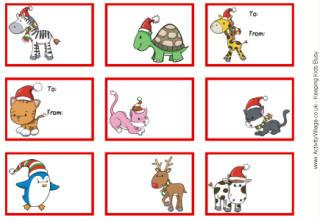 christmas templates for children free printable