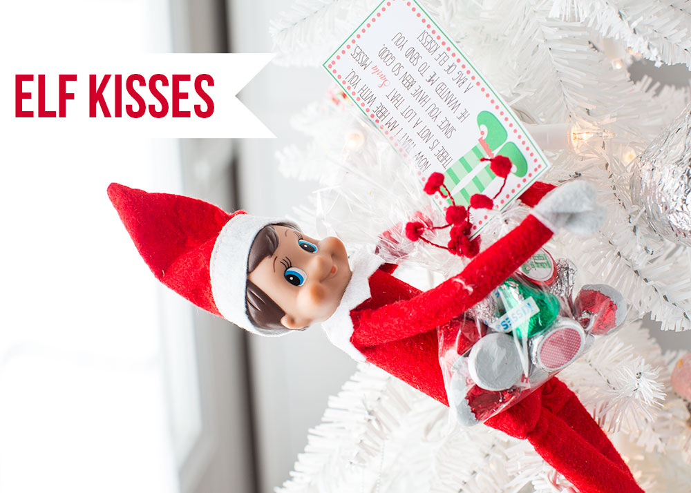 elf kisses printable