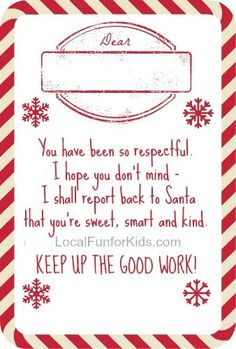 elf on the shelf letter from santa printable