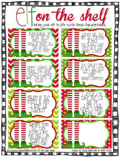 photo about Elf Printable Coupons named Elf Printable Coupon codes - Xmas Printables