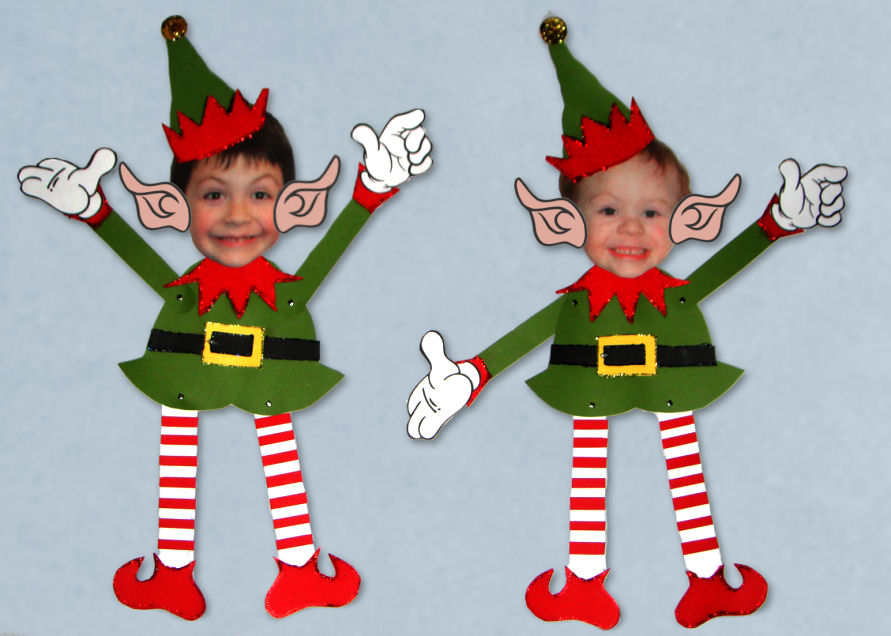 elf template printable