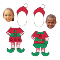 elf yourself printable