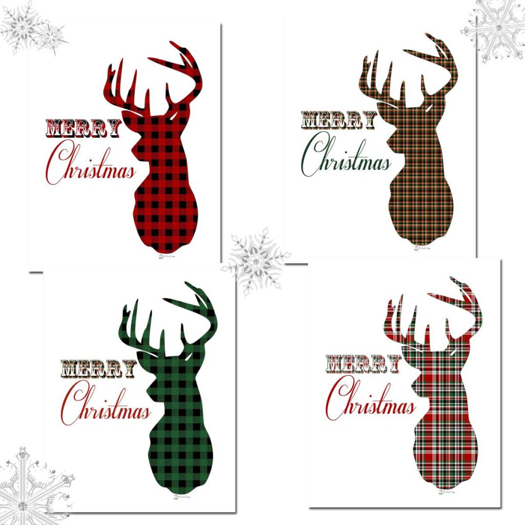free christmas pictures to print