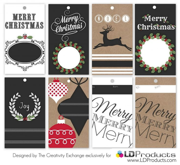free large printable christmas gift tags