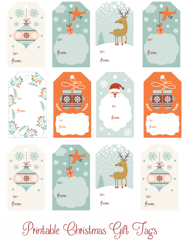 photograph about Diy Gift Tags Free Printable titled Free of charge Substantial Printable Xmas Present Tags - Xmas Printables