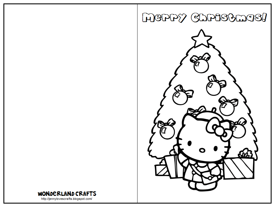 free printable childrens christmas cards