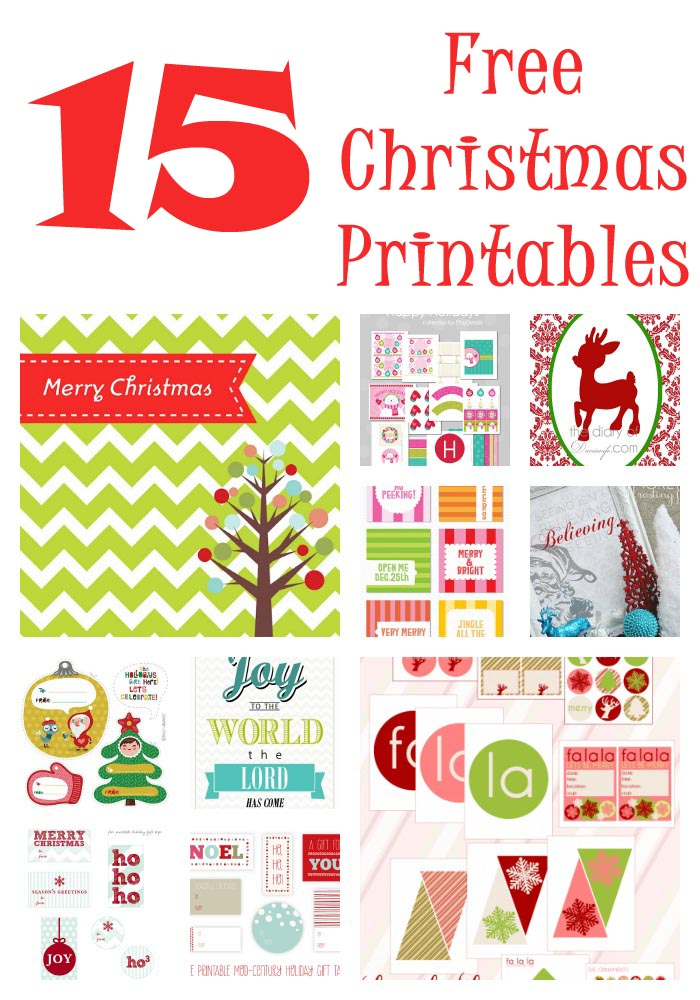 free printable christmas booklets