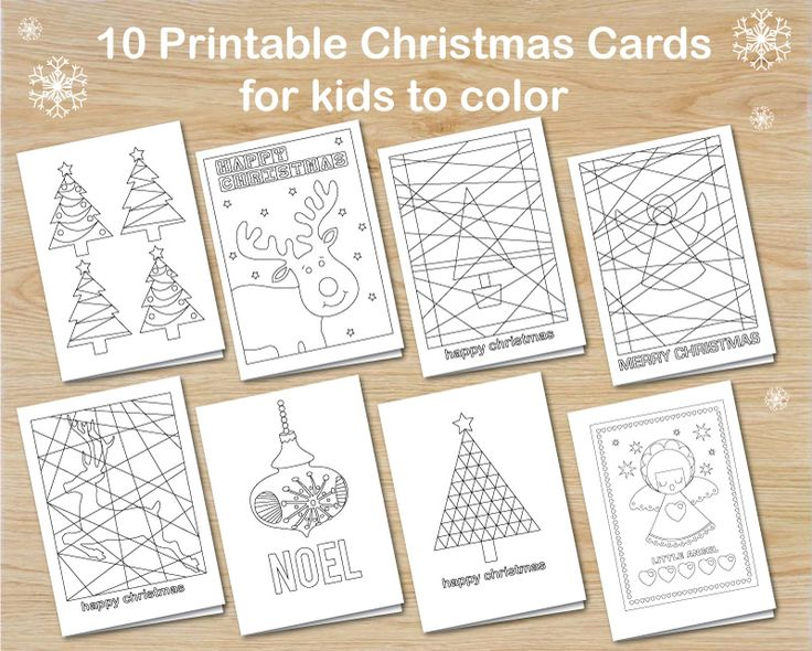 image relating to Printable Kid Crafts known as Totally free Printable Xmas Crafts For Preschoolers - Xmas