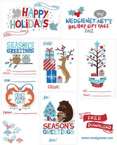 free printable christmas ideas