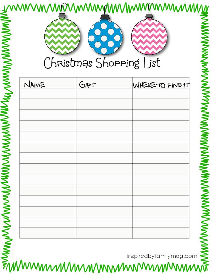 Printable Christmas Wish List For Kids.Free Printable Christmas List Template Christmas Printables
