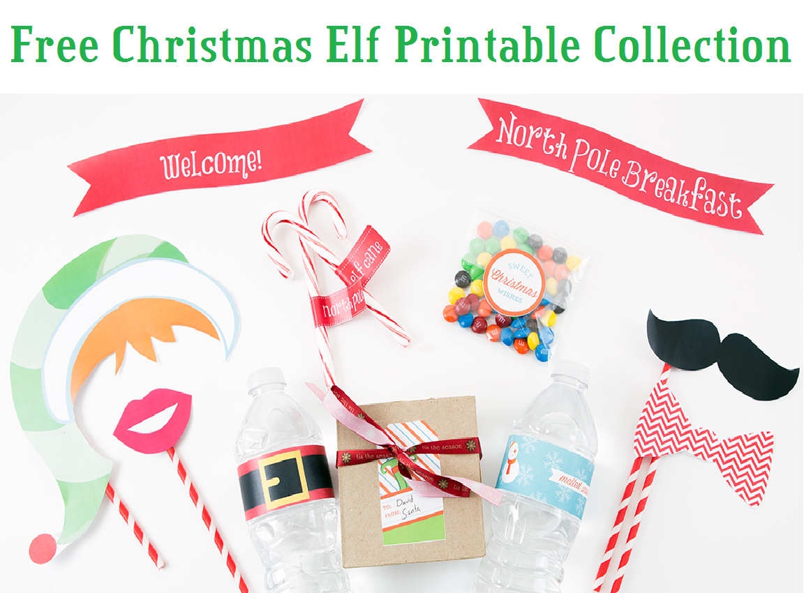free printable elf template