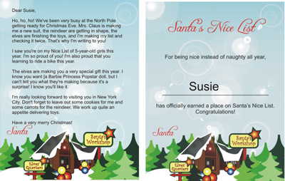 free printable santa claus letters north pole