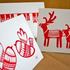 how to print christmas cards