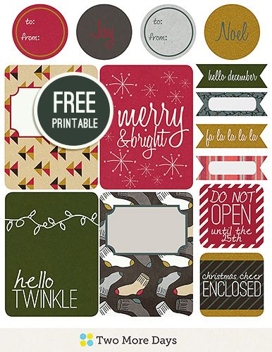 journal printables for christmas