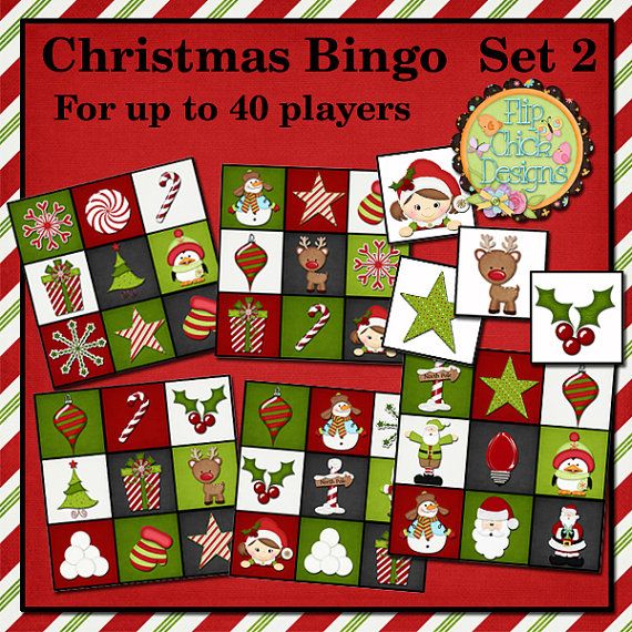 photo regarding Free Printable Christmas Bingo Cards for Large Groups known as Substantial Printables For Xmas - Xmas Printables