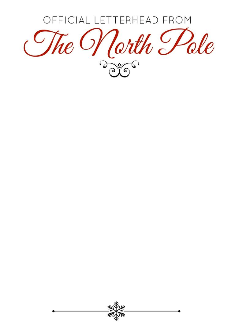 letterhead printables for christmas