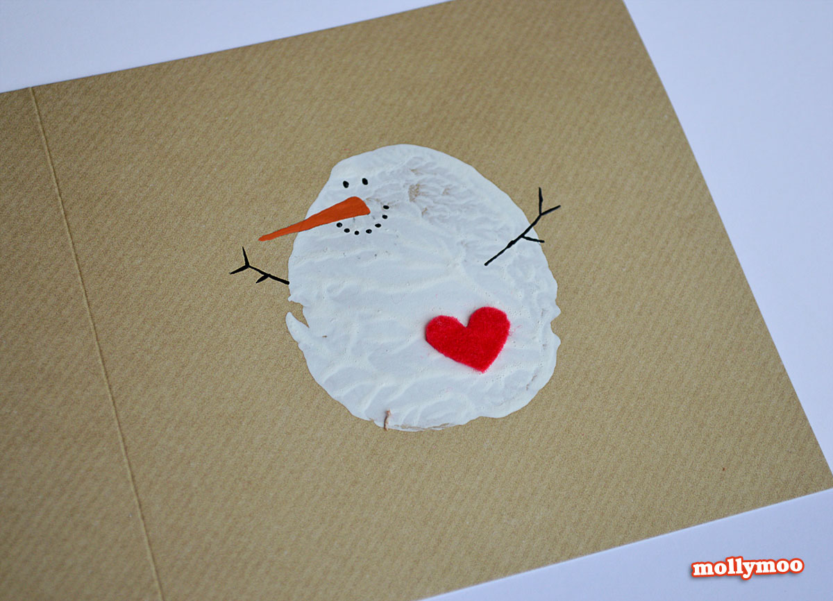 make a christmas card to print