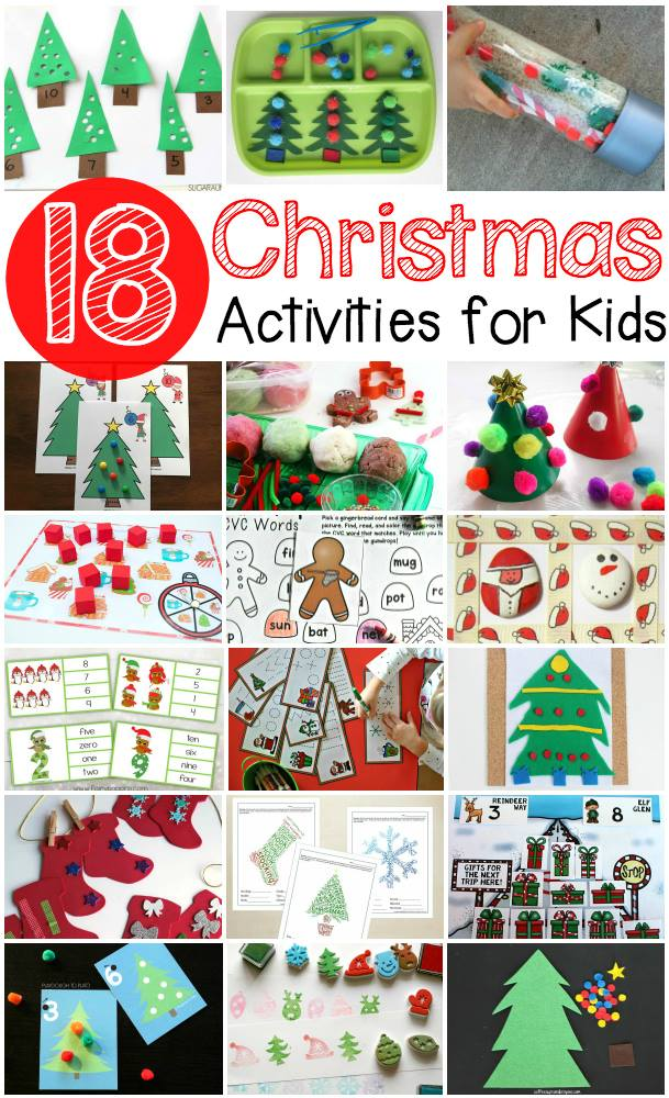 printable christmas activities for toddlers