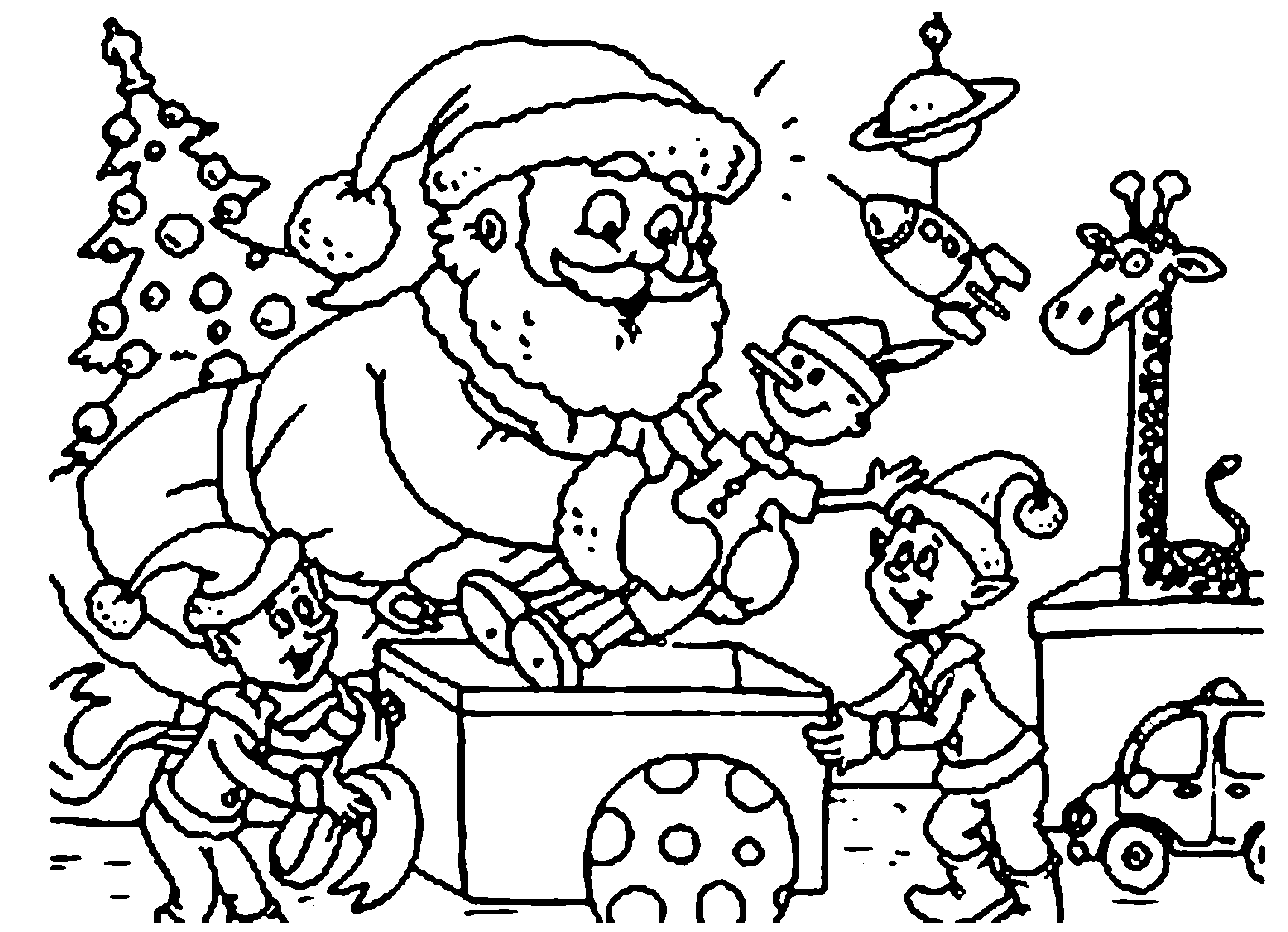 printable christmas coloring sheets