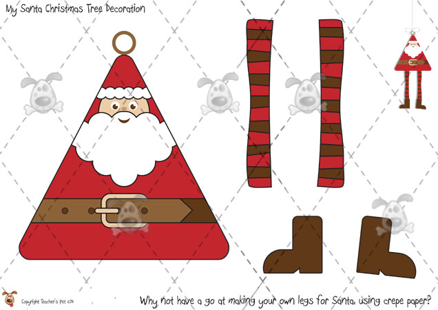 printable christmas decorations to make