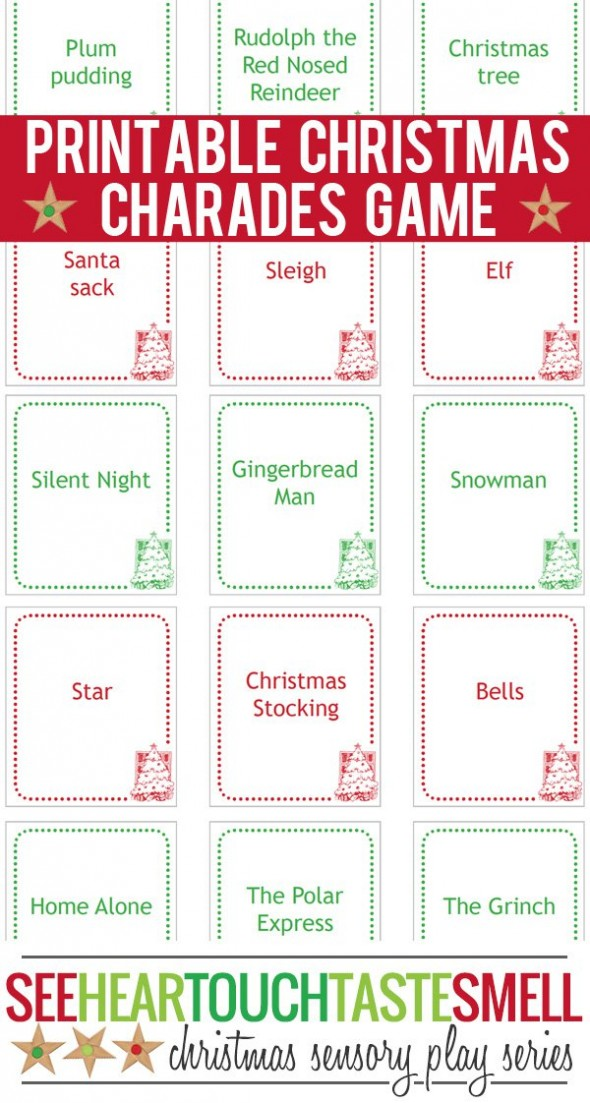 printable christmas games for groups