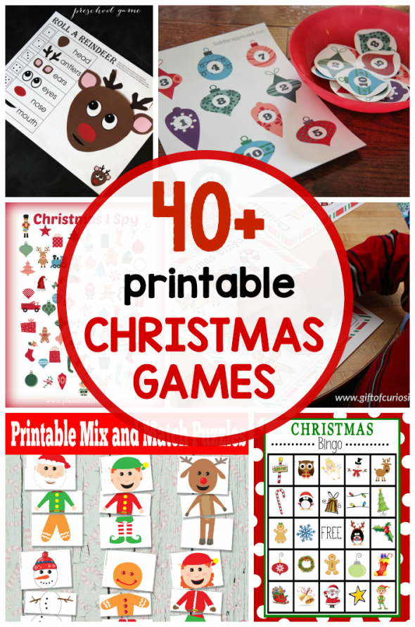 printable christmas kids
