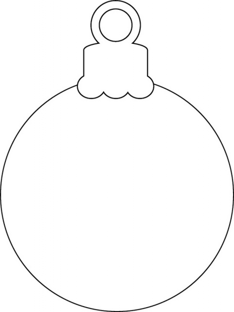 printable christmas ornaments