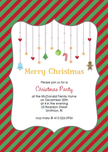 printable christmas party templates