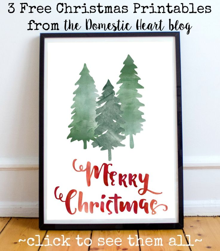 printable christmas prints