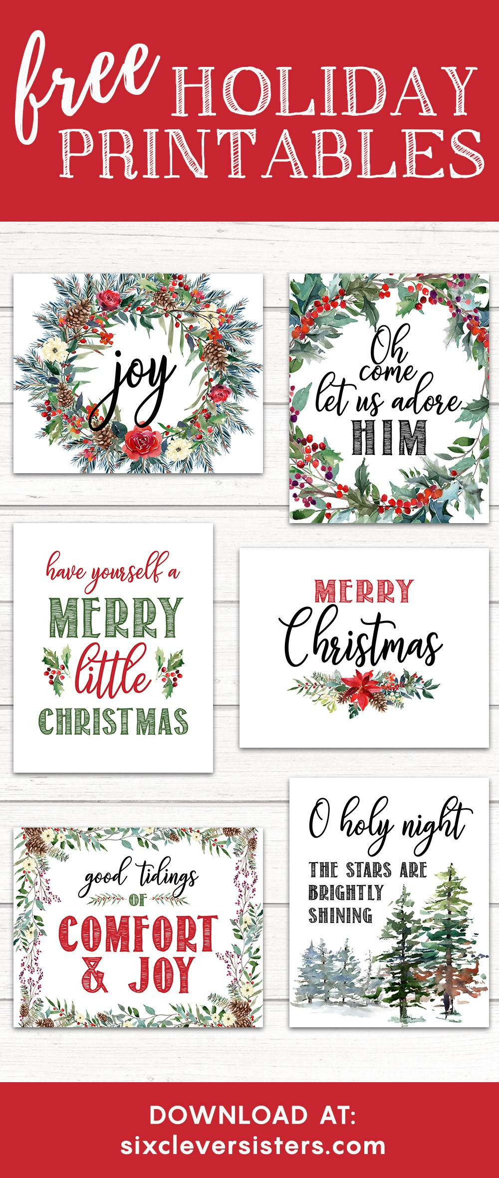 printable christmas signs