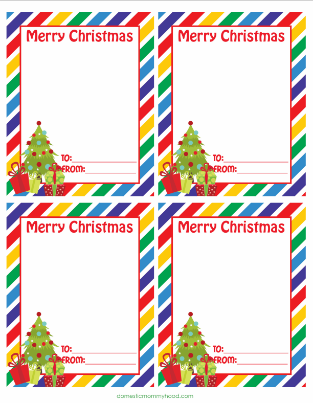small christmas cards printable