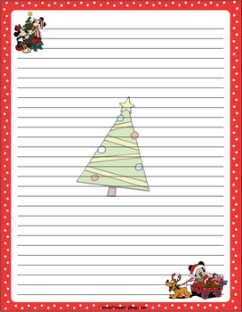 stationary printables for christmas