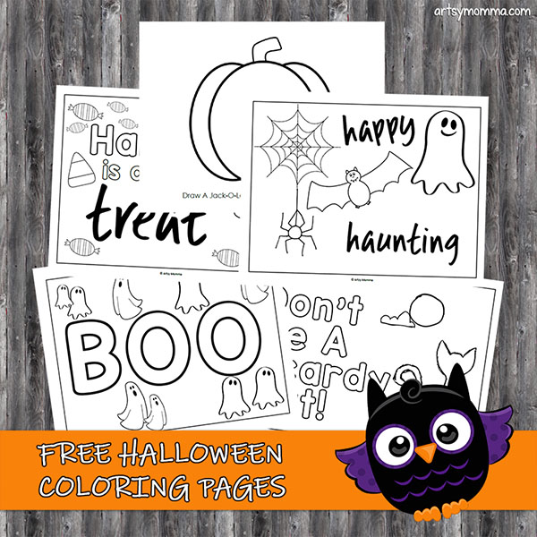 halloween coloring pictures printable