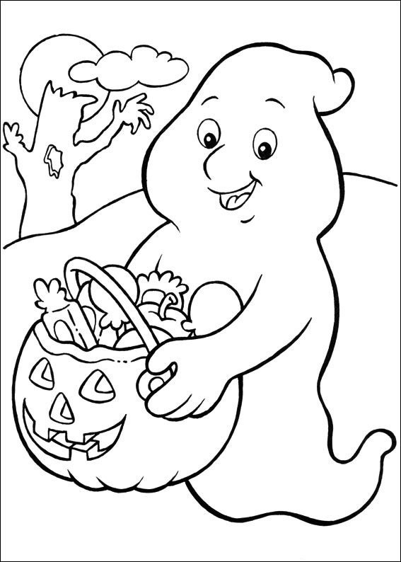 halloween free coloring pages printable