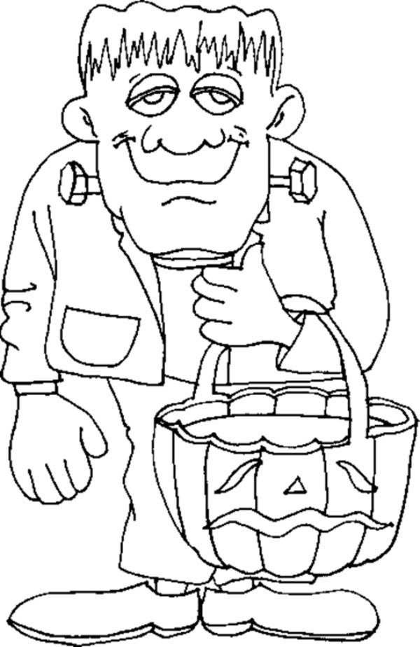 halloween online coloring pages