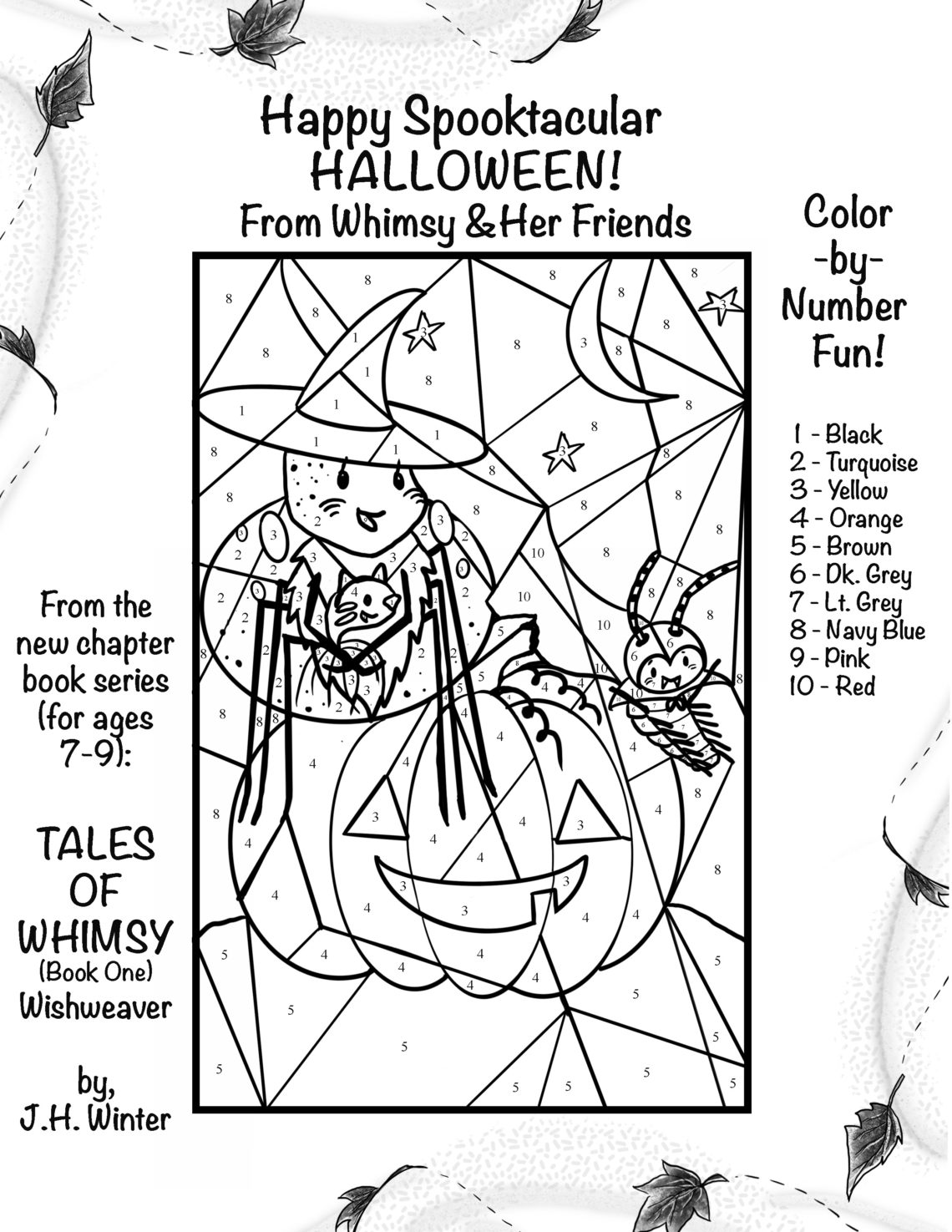halloween picture to color
