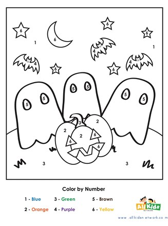 halloween pictures color