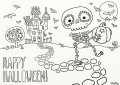 Halloween Pictures To Colour And Print For Kids