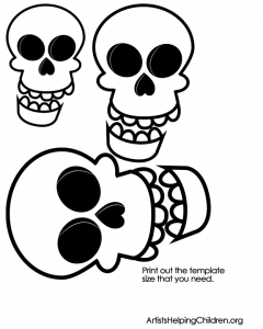 skeleton pictures for kids to print