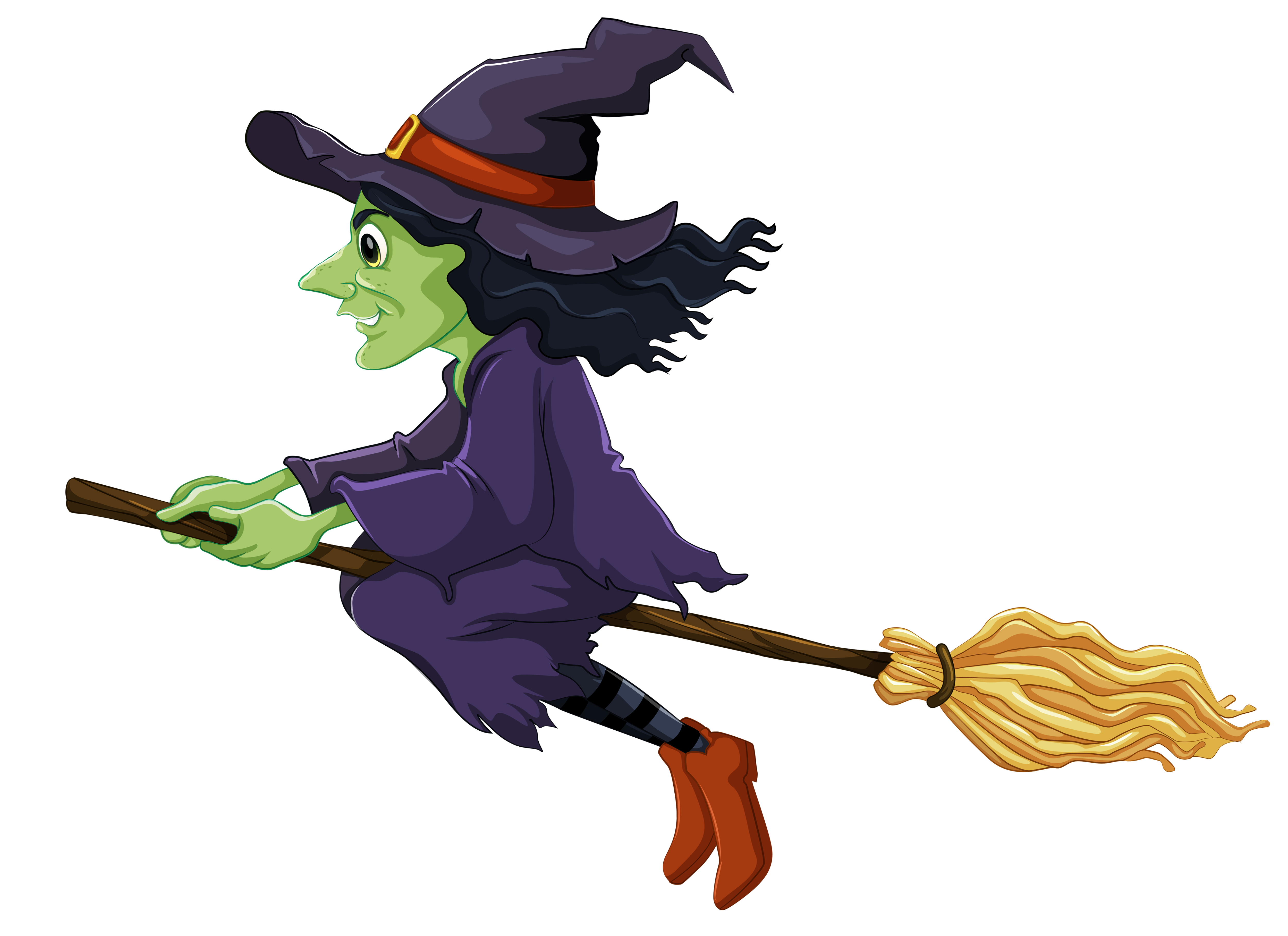 witch clipart halloween