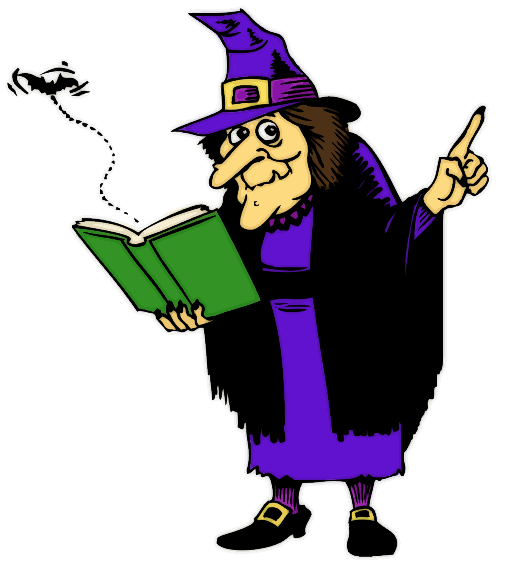 witch pictures free clip art