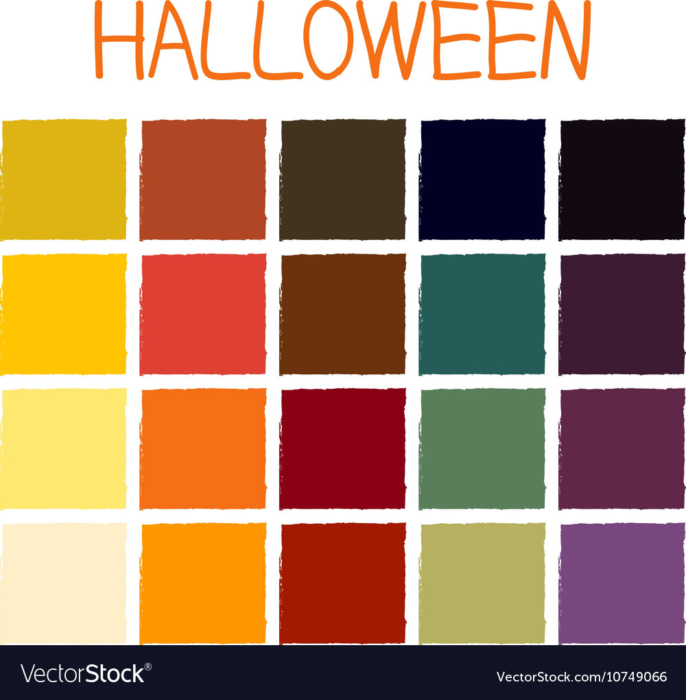 colors for halloween