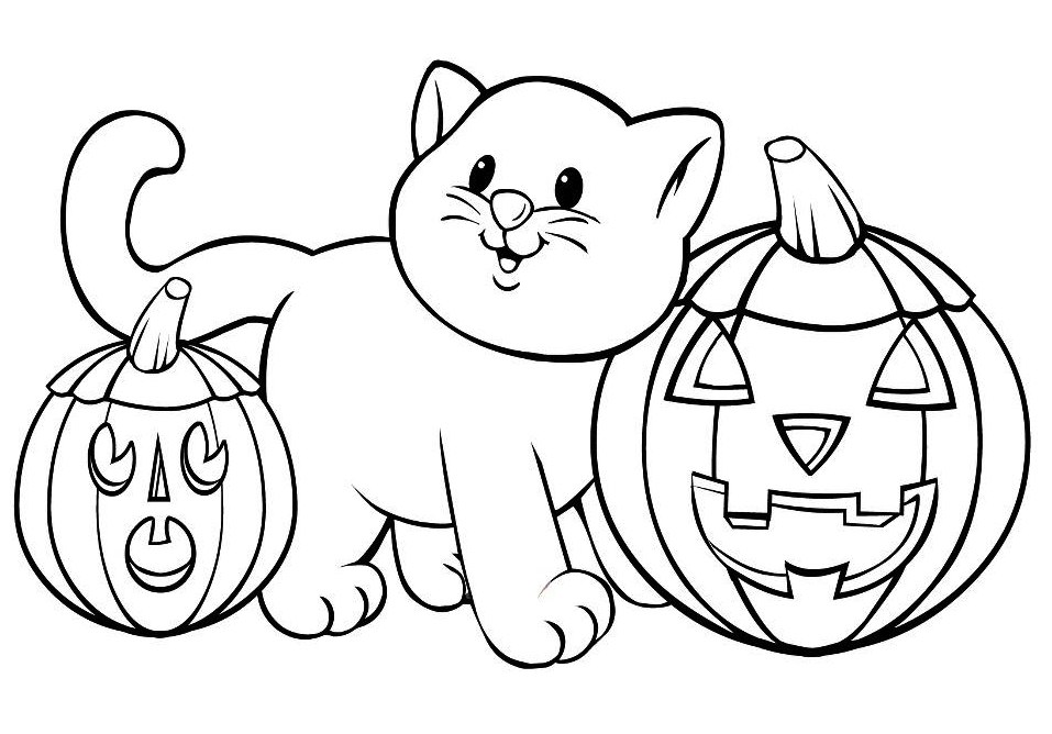 online halloween coloring pages
