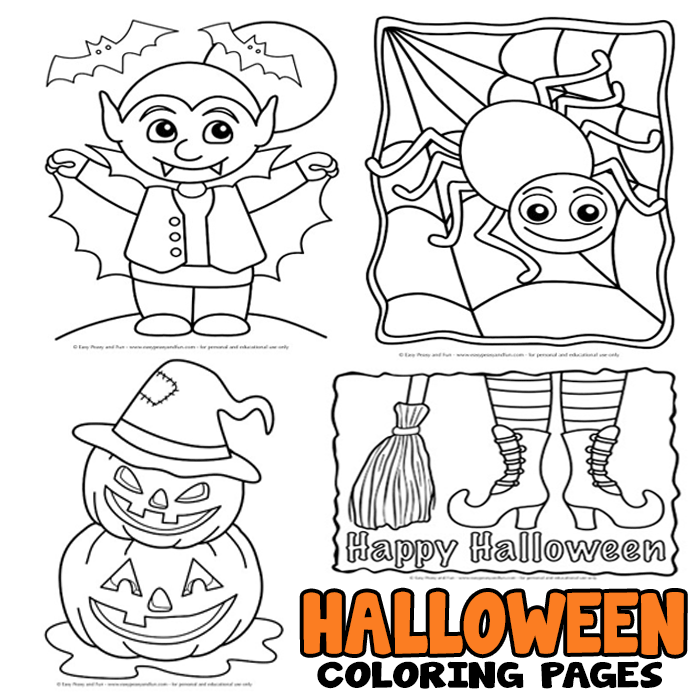 coloring sheets for halloween printable