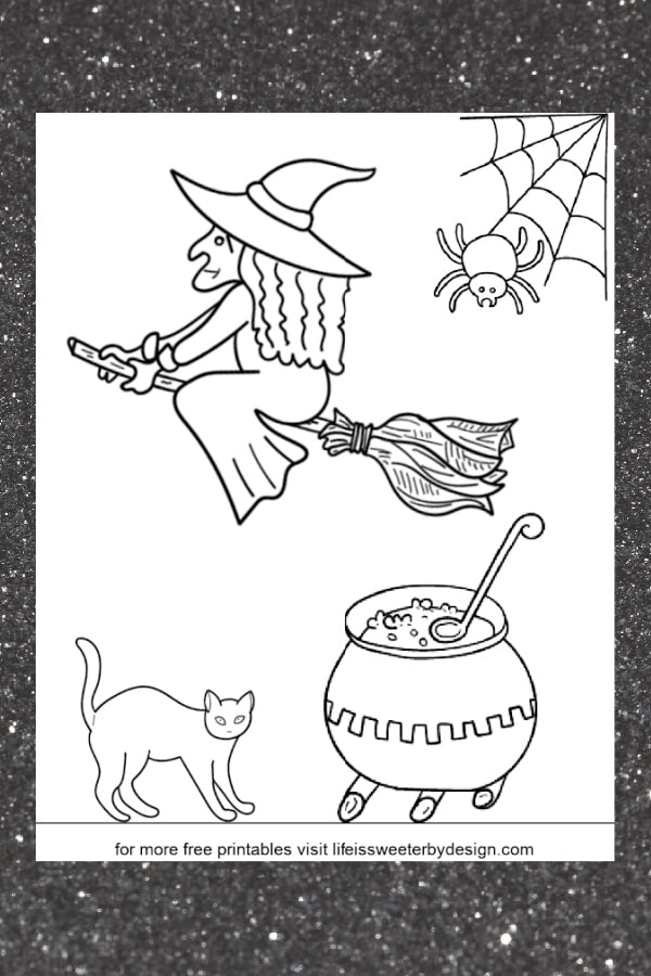 printable witch pictures