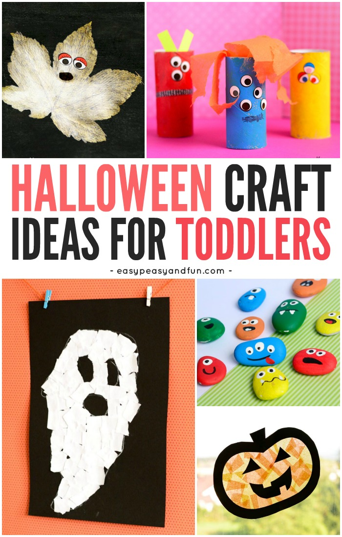 toddler halloween crafts and activities