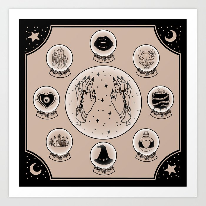 witch pictures to print
