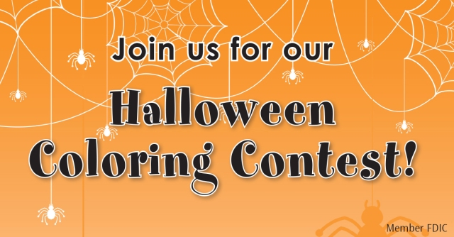 halloween coloring contests