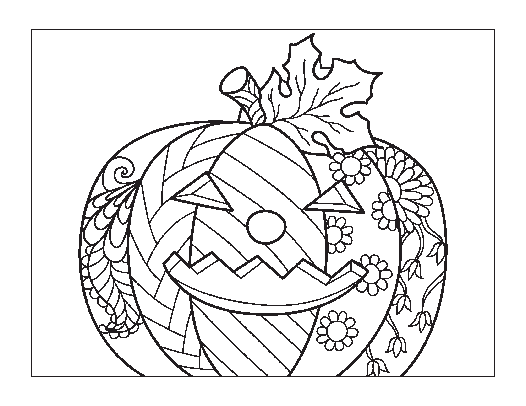 halloween colouring for kids